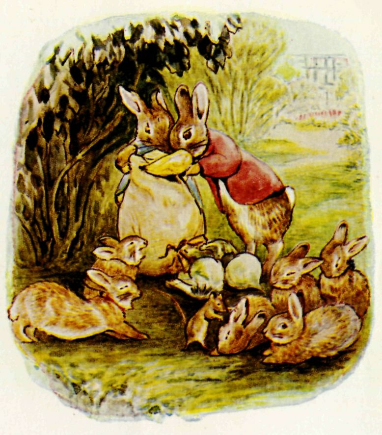 The Tale Of Flopsy Bunnies By Beatrix Potter