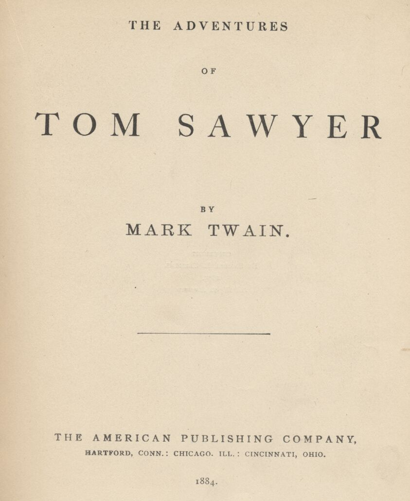 Whats a better title for my tom sawyer essay?