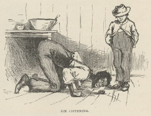the racist ideas in the novel the adventures of hucleberry finn by mark twain This article will discuss several examples of satire and irony in mark twain's popular 'the adventures of huckleberry finn' banned for being both racist and not.