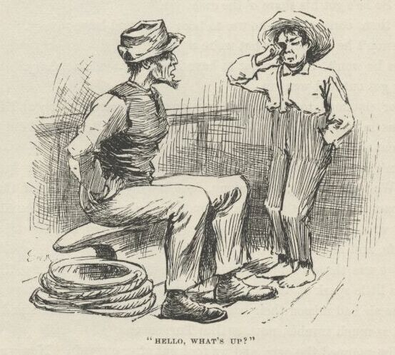 tradition in huck finn In mark twain's adventures of huckleberry finn by leslie gregory twain used the minstrel tradition in his creation of jim's character.