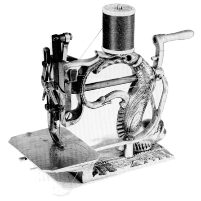 who invented the sewing machine