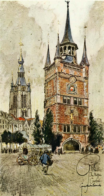 Vanished Towers and Chimes of Flanders by George Wharton Edwards