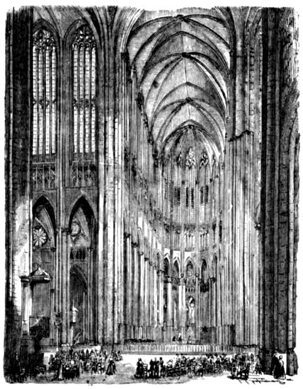 Gothic Cathedral Interior Drawing wwwpixsharkcom
