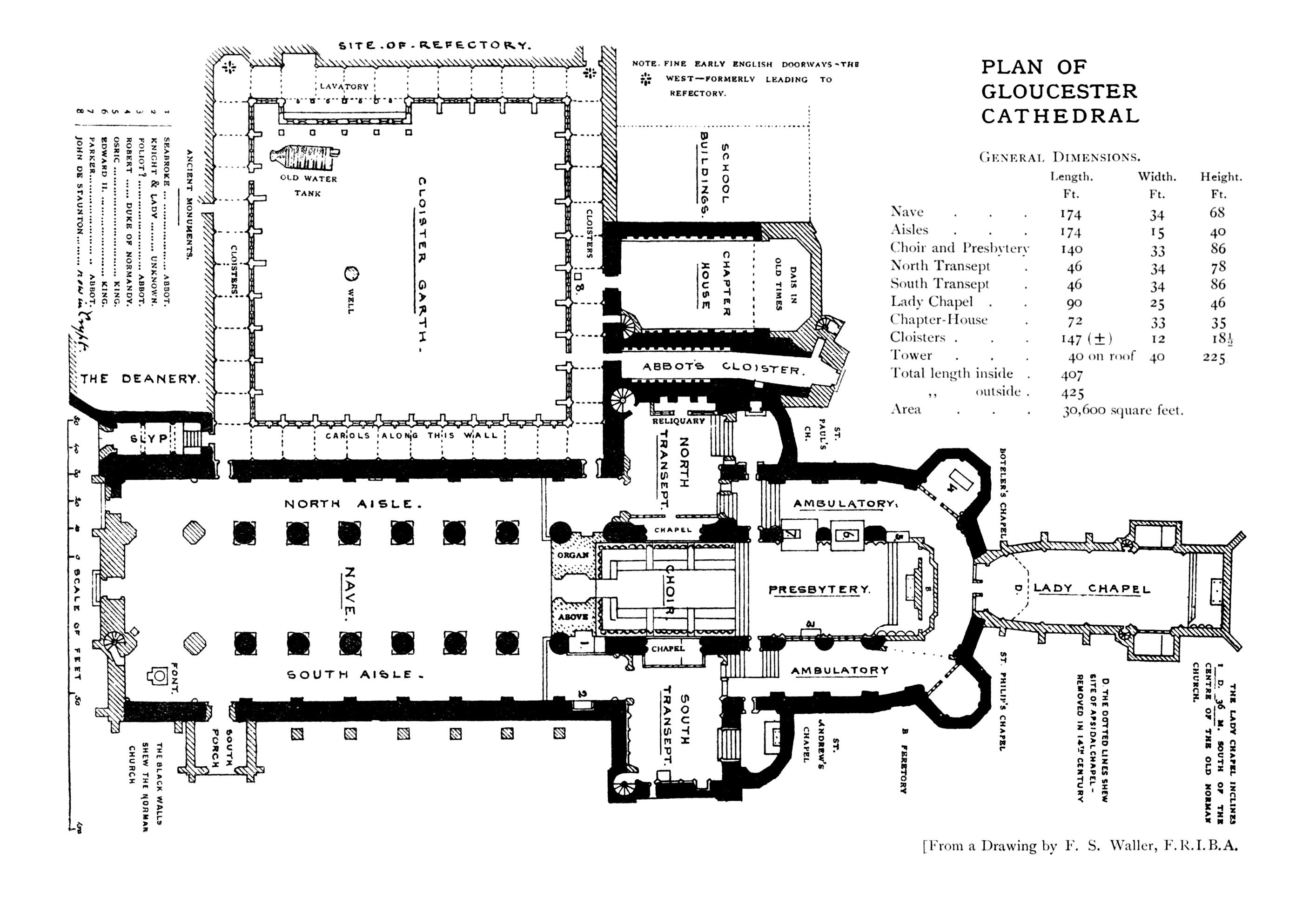 100 washington national cathedral floor plan for Washington house plans