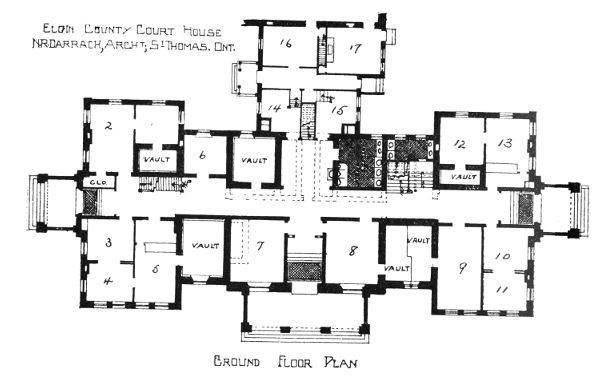 The court houses of a century by kenneth w mckay for 11 brunel court floor plans