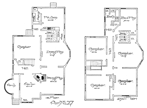 Plumbing Plan Of A House House Plans