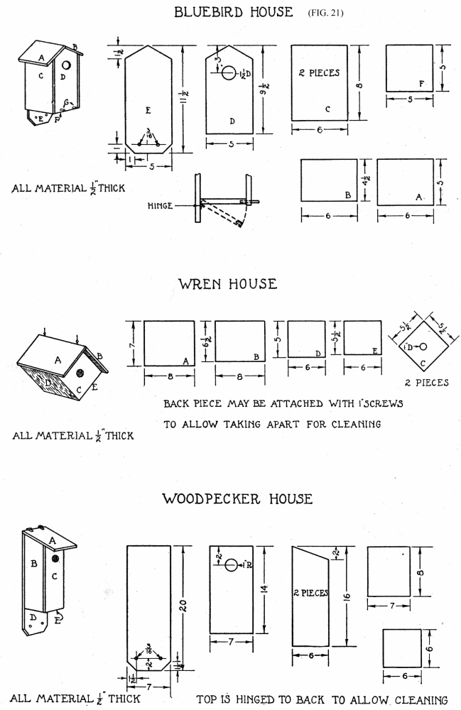 Bluebird House Plans Ohio