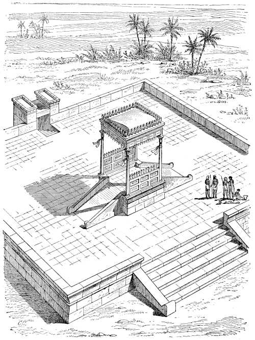 A history of art in ancient egypt vol 1 of 2 by georges perrot fig 84wooden building second system composed by charles chipiez ccuart Choice Image